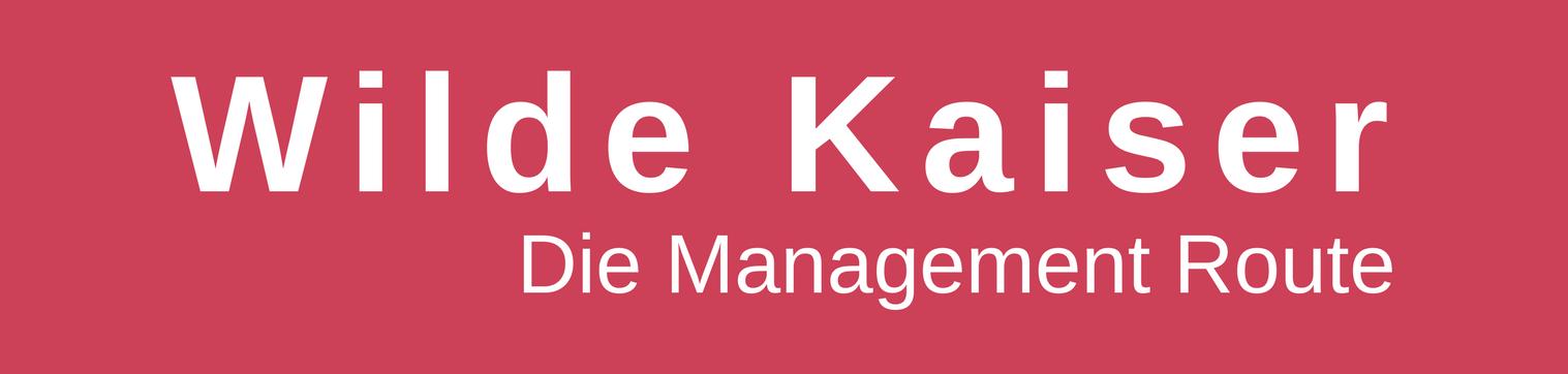 Wilde Kaiser - die Management Route